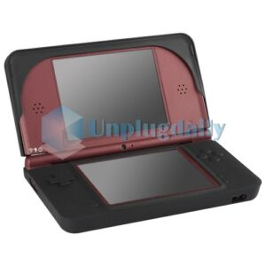 Black Silicone Rubber Skin Gel Case Cover For Nintendo DSI LL/XL