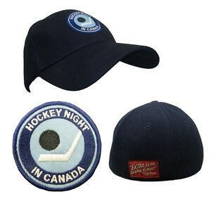 NHL CBC Hockey Night In Canada Full Back Blue Hat Cap One Size Fits Most