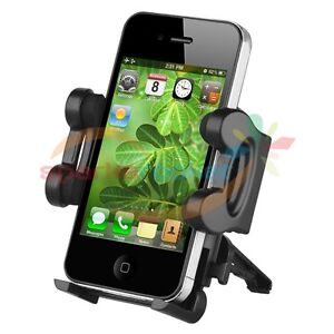 Universal Car Air Vent Mount Holder Cradle for Cell phone iPhone 4S iPod Touch