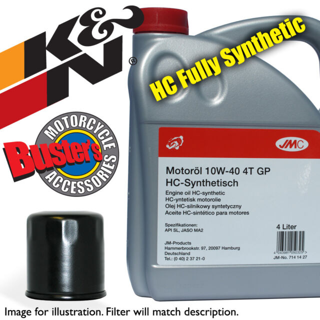 XT 225 T Drum Rear USA Import 2005 K&N Filter & 4L Fully Synthetic Oil