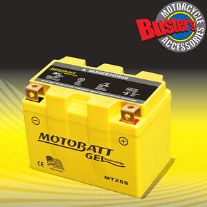 Motobatt MBTZ7S Upgrade Motorcycle Battery Honda SH100 2000 YTX5L-BS