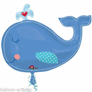 34-Baby-Boy-Blue-Whale-Cute-Animal-Foil-Supershape-Balloon