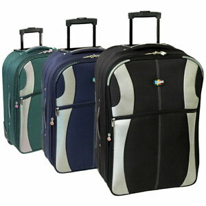 New-Extra-Large-Medium-Small-Cabin-Travel-Trolley-Luggage-Suitcase-Bag-Case-Set