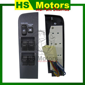 LANDCRUISER 80 SERIES - NEW POWER WINDOW SWITCH- ESW9380