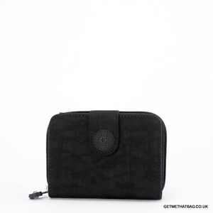 BNWT-Kipling-New-Money-Medium-Purse-Wallet-Black-RRP-29