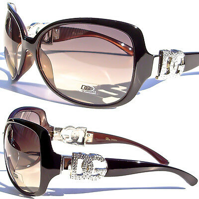 Cat Eye Sunglasses Fashion Designer DG Eyewear Vintage Celeb Blk Brown DG26504 on Rummage