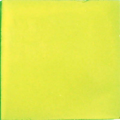 S13) Nine Mexican Tiles Clay Tile High Light Yellow Color