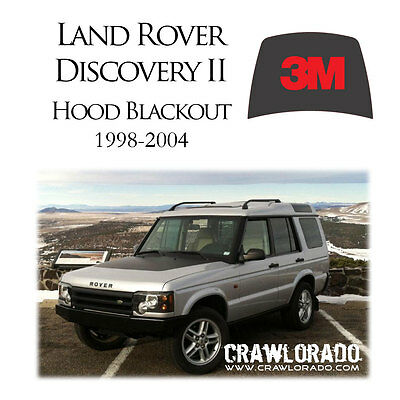 Land Rover Discovery 2 Hood Blackout Decal Sticker Disco II