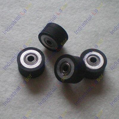 2pcs HQ Pinch Roller Roland GCC LiYu Rabit  Pcut Mimaki Cutting Cutter Plotter