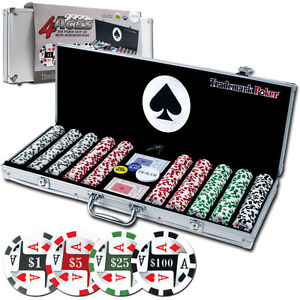 500-11-5g-4-Aces-Poker-Chip-Set-w-Aluminum-Case