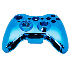 Wireless-Controller-Case-Shell-Cover-for-XBox-360-Xbox360-Plating-Blue