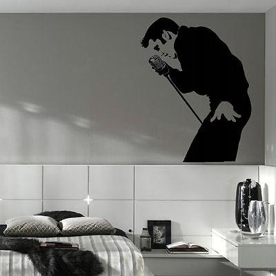 ELVIS PRESLEY LARGE BEDROOM WALL MURAL ART STICKER DECAL CUT MATT VINYL