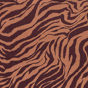 VELVET-COTTON-UPHOLSTERY-SOFA-DRAPERY-FABRIC-EXOTIC-SEXY-ZEBRA-BROWN-BLACK-54-W