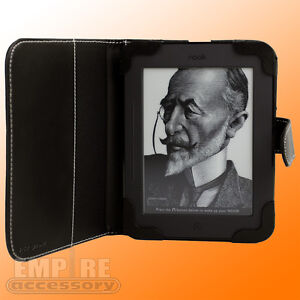 Black-Leather-Case-Cover-for-Barnes-Noble-Nook-Simple-Touch-eReader