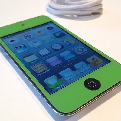 Apple iPod touch 4th Generation Black GREEN (8 GB) RARE on Rummage