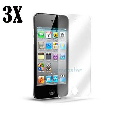 3X Clear LCD Screen Protector Cover Shield for Apple iPod Touch 4 4g 4th Gen on Rummage