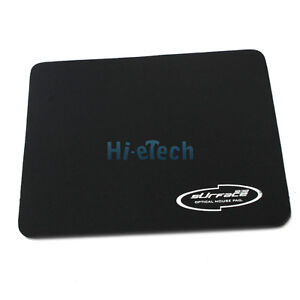 PC Computer Laptop Mouse Mat  Pad Ideal For Optical Mice  Black #125 UK