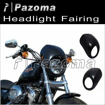 Sportster Fairing Harley Dyna Head Light Mask Fx Xl 883