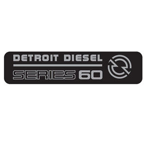 DETROIT DIESEL SERIES 60 VINTAGE STICKER