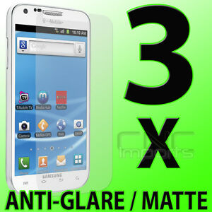 3x-Anti-Glare-Matte-LCD-Screen-Protectors-for-Samsung-Galaxy-S-II-2-T-Mobile
