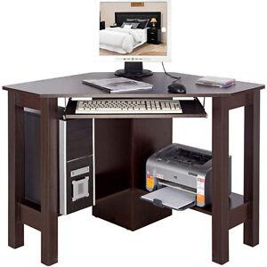 Mueble ordenador escritorio oficina horner nogal de esquina of8109 ebay - Muebles para ordenador ...