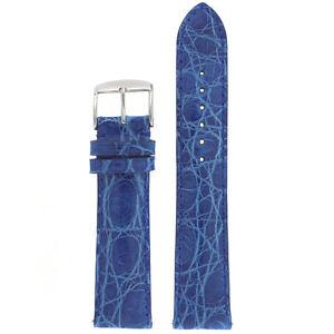Genuine-Crocodile-Royal-Blue-Watch-Strap-with-Easy-Change-Springs-LEA850