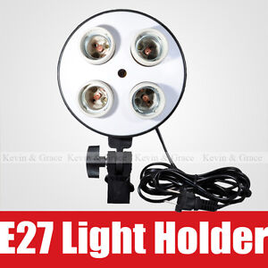 Video-Photo-Studio-Continuous-Lamp-Light-Head-with-Four-E27-AC-Bulb-Socket