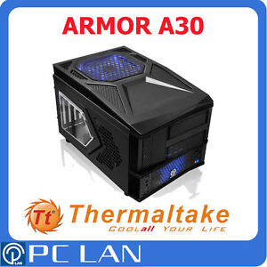 Thermaltake ARMOR A30 Black Mini Case w/ USB 3.0 Port - No Power Supply