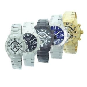 Invicta-Mens-Stainless-Steel-Chronograph-Watch-Choose-from-Five-Styles
