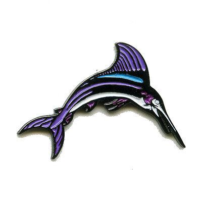 Schwertfisch Swordfish Badge Metall Button Badge Pin Pins Anstecker 106