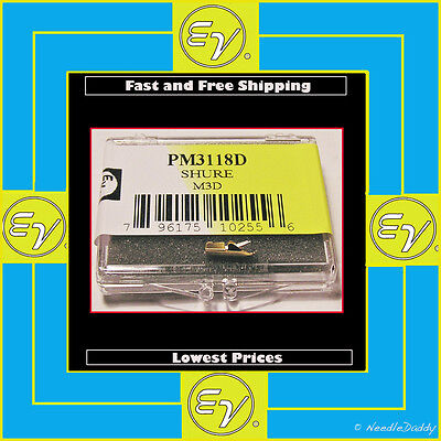 TURNTABLE NEEDLE STYLUS FOR SHURE N3D N7D N8D SHURE M7D M3D M7 N21D 757-D7 on Rummage