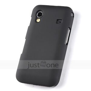 Black-Hard-Plastic-Back-Shell-Skin-Fitted-Case-Cover-f-Samsung-Galaxy-Ace-S5830