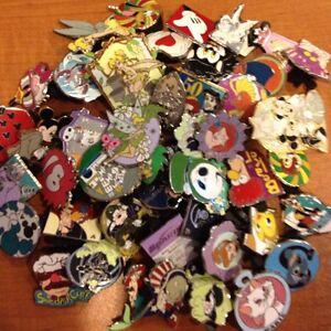 Disney-Trading-Pins-LOT-OF-25-No-Duplicates-USA-SELLER-Hidden-Mickey-LE-Cast