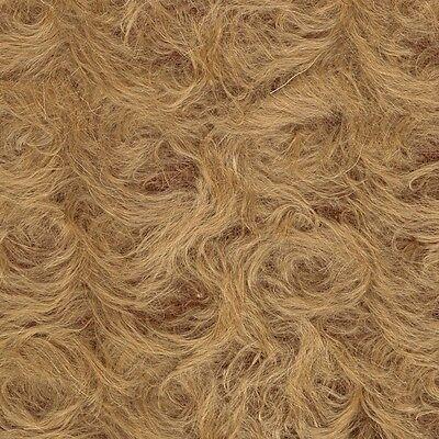 Schulte Curly-Sparse Mohair - beigebraun gelockt  - 25 x 47 cm