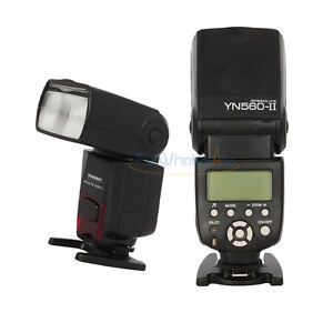 Yongnuo YN560 II Flash Gun Speedlite For Canon 350D 450D 500D Nikon D80 D90 DSLR