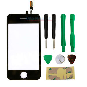 New LCD Replacement Front Glass Digitizer Touch Screen for iPhone 3G + Tools
