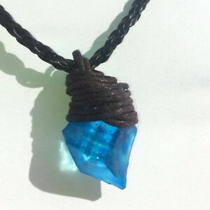 h2o just add water blue crystal necklace ebay