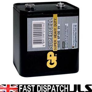 pp9 6f100 9v 1603s block battery for roberts radio ebay. Black Bedroom Furniture Sets. Home Design Ideas