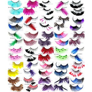 Eyelash-False-Extension-Lashes-Fake-Eyelashes-Makeup-Cosmetic-Party-New-CHOOSE
