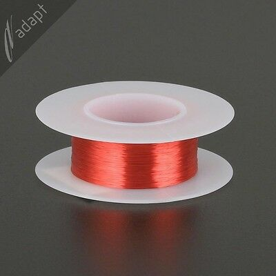 Magnet Wire Enameled Copper Red 38 Awg Gauge 155c 116 Lb 1210 Ft S