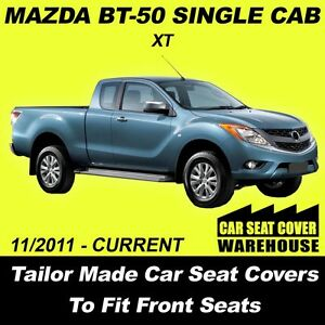 car seat covers to fit mazda bt 50 bt50 xt single cab