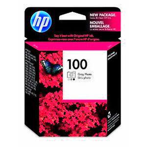 Genuine-HP100-Gray-Photo-ink-Cartridge-Hp-100-For-Deskjet-460-6520-6540-6620