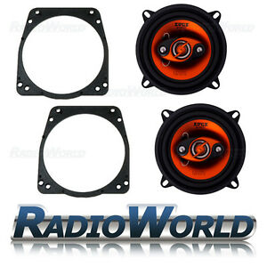 Ford Fiesta Door Speaker Upgrade 1989 - 2002 EDGE ED205 5.25