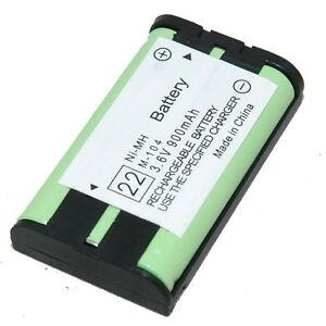 Cordless Phone Battery for Panasonic HHR-P104, HHR-P104A NiMH 3.6V 900mAh