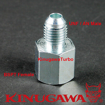 Forged Steel Adapter Fitting Connector 6AN Male - 1/2 BSPT BSP Female C6-2