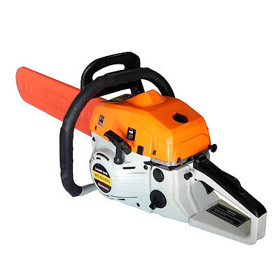 "BRAND NEW 58cc 22"" 2-STROKE GAS GASOLINE CHAINSAW CHAIN SAW  on Rummage"