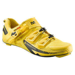 Mavic Zxellium road racing cycling bicycle  bike shoe shoes 9  new yellow