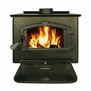Us stove company country hearth wood stove w blower 5sv 2500 for Country hearth 2500