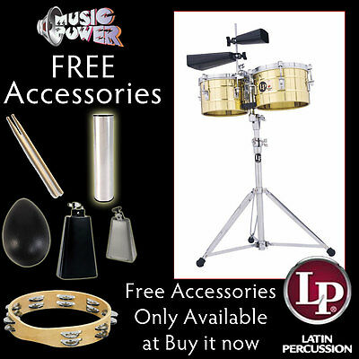 Latin Percussion LP272-B Tito Puente Timbalitos Brass on Rummage