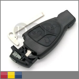Remote key case for benz mercedes sprinter c s e class for Mercedes benz key fob replacement cost
